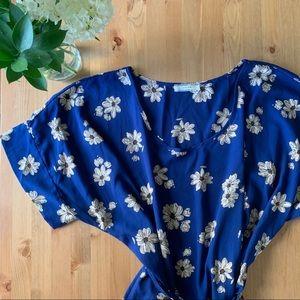 Poema (ModCloth) Blue Daisy Tunic
